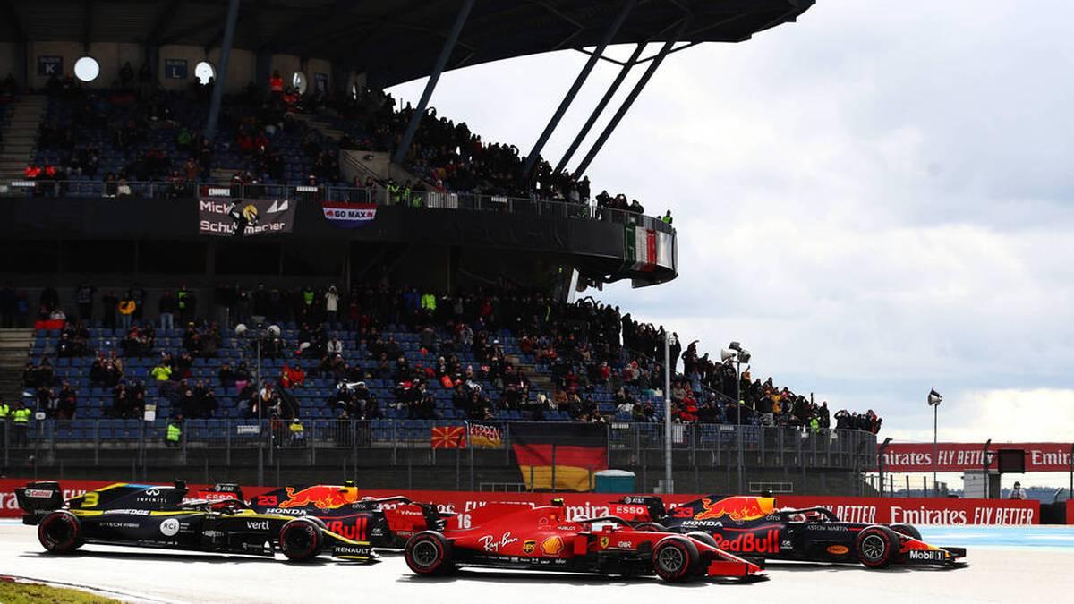 Zuletzt fand 2020 mit dem GP der Eifel ein Formel-1-Rennen in Deutschland statt