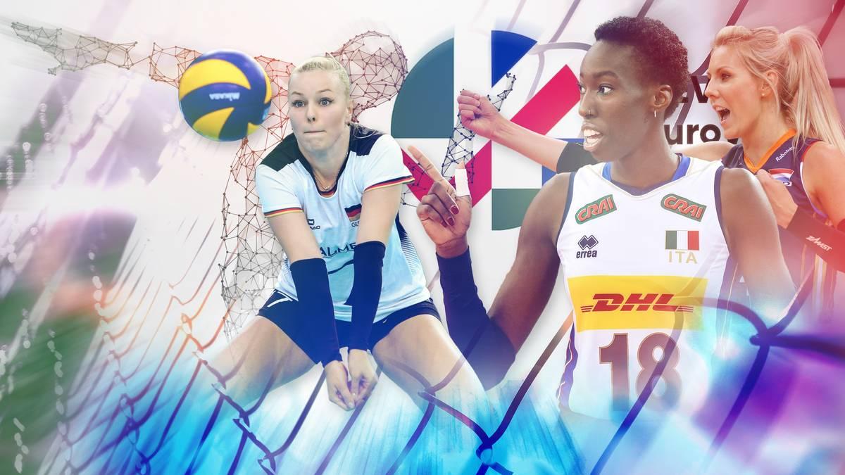 Powerranking zum Viertelfinale der Volleyball-EM der Frauen
