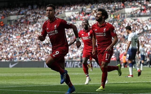 Roberto Firmino und Mohamed Salah stehen Liverpool gegen Barcelona nicht zur Verfügung