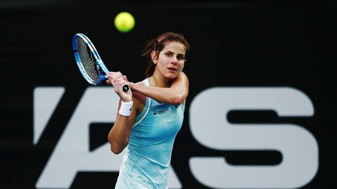 Julia Görges steht in Auckland im Viertelfinale