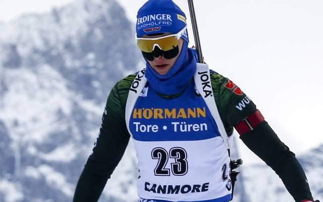 Nicht nur Vanessa Hinz hatte mit der Kälte beim Biathlon in Kanada zu kämpfen