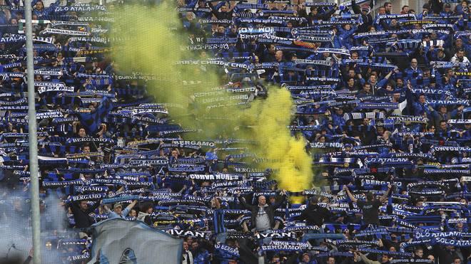 Fans von Atalanta Bergamo