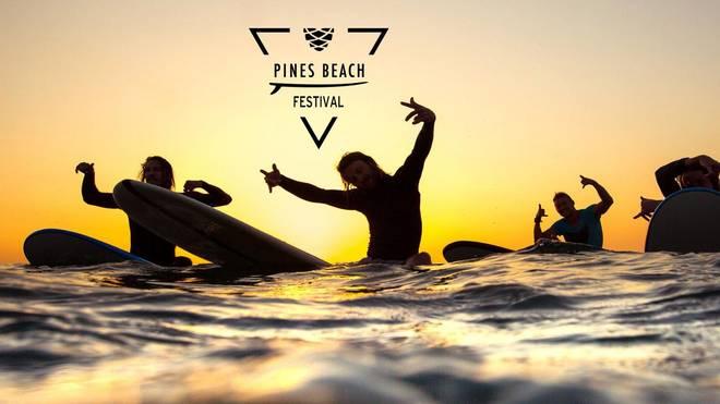 Das Pines & Beach Surf und Musik Festival 2018