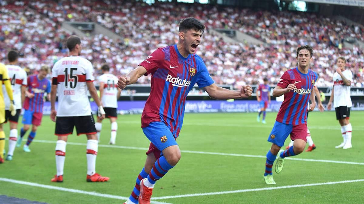 Yusuf Demir blüht beim FC Barcelona auf