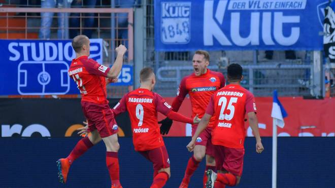 Der SC Paderborn feierte einen wichtigen Sieg beim VfL Bochum
