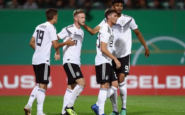 U21 Deutschland Irland 6 0 Kantersieg In Em Qualifikation