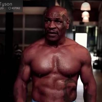 Beastmode! Tyson vor seinem Comeback in irrer Form