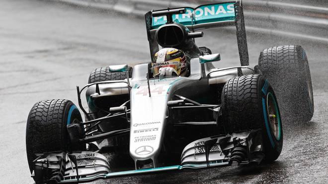 Bei Regen ist Mercedes-Pilot Lewis Hamilton derzeit kaum zu schlagen