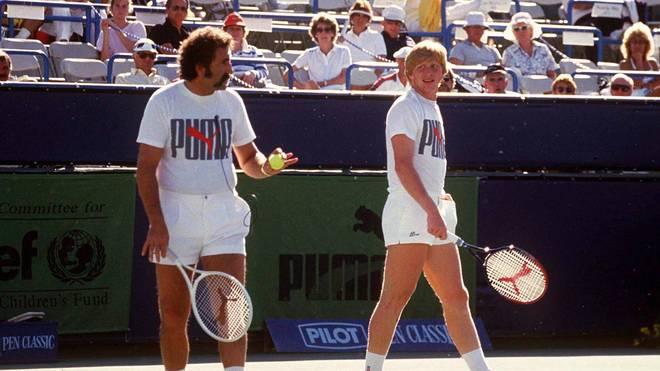 Ion Tririac (r.) machte Boris Becker zu einer globalen Marke