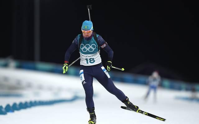 Biathlon, Doping: IBU sperrt neun Kasachen provisorisch, Die Kasachin Galina Wischnewskaja wurde von der IBU suspendiert