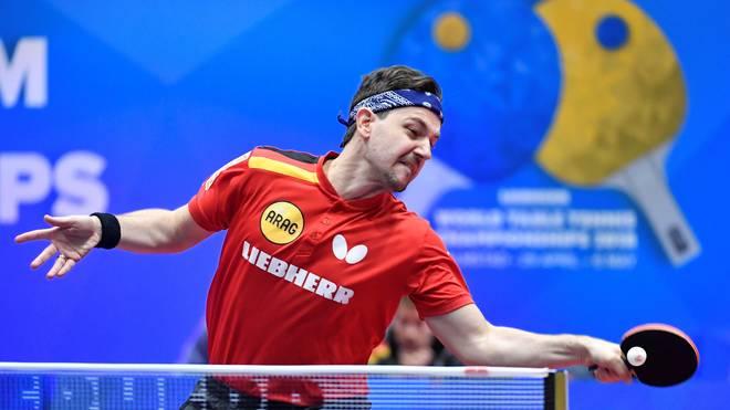 Timo Boll liegt mit seinem Team nach drei Siegen auf Platz eins der Vorrundengruppe
