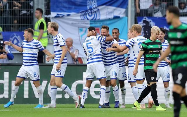 Der MSV Duisburg feierte den zweiten Saisonsieg