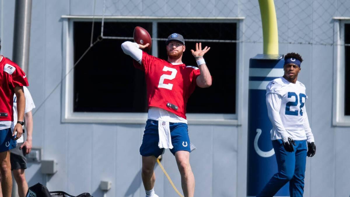 Carson Wentz wechselte 2021 zu den Indianapolis Colts