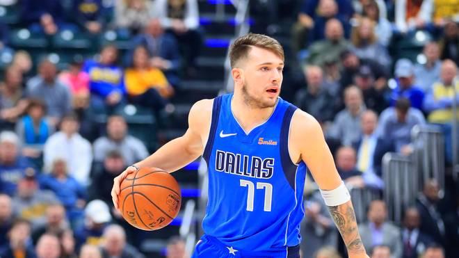 Luka Doncic hat die Dallas Mavericks wieder einmal zum Sieg geführt