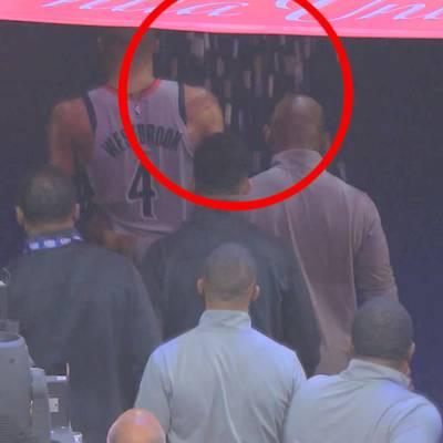 Westbrook rastet nach Popcorn-Attacke aus