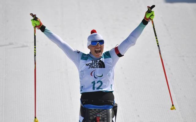 Andrea Eskau gewann bei Olympia zwei Goldmedaillen im Biathlon