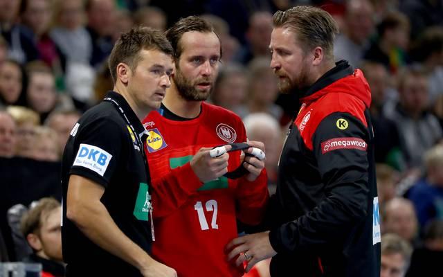 Das Team von Bundestrainer Christian Prokop (l.) startet in die Heim-WM