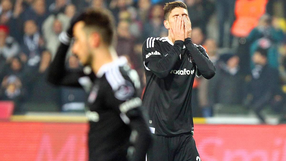 Rückschlag für Gomez und Besiktas