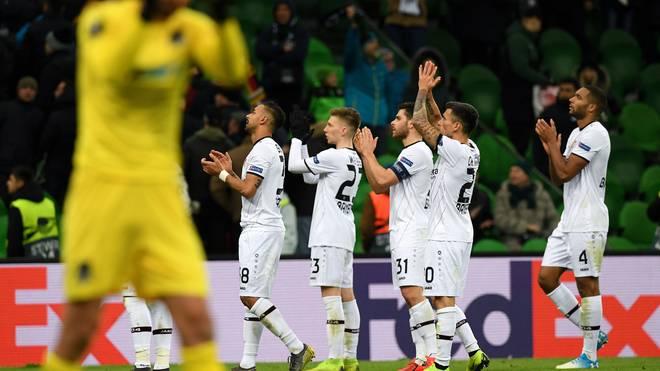 Bayer Leverkusen kam beim FK Krasnodar nicht über eine Nullnummer hinaus