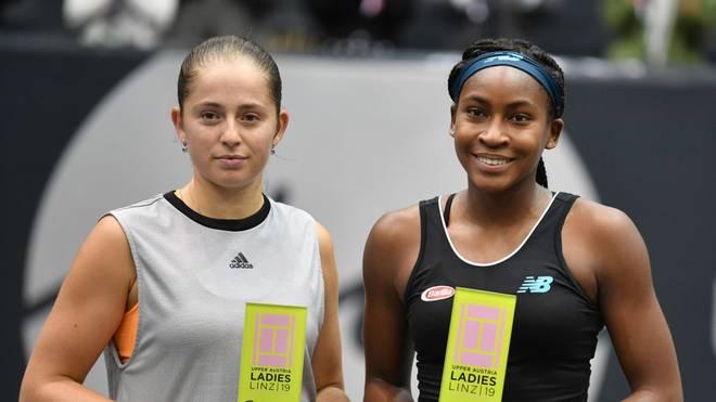 Cori Gauff nach ihrem Triumph gegen Jelena Ostapenko