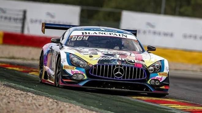 Maro Engel bescherte Mercedes-AMG eine weitere Pole beim 24h-Rennen