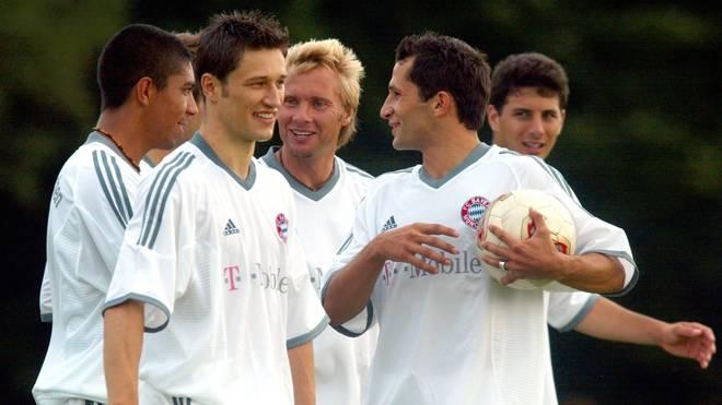 Niko Kovac spielte zwischen 2001 und 2003 gemeinsam mit Hasan Salihamidzic beim FC Bayern