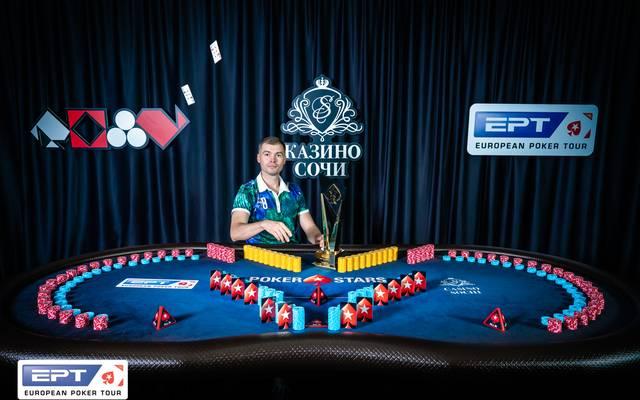Ruslan Bogdanov gewann den Main Event in Sotschi