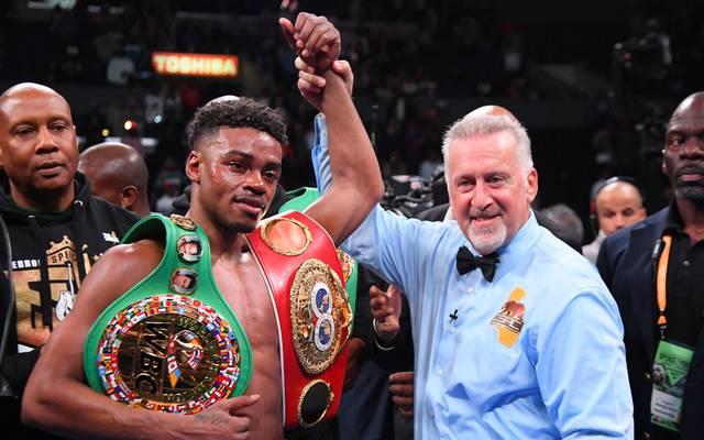 Erroll Spence Jr. ist jetzt Weltmeister der IBF und WBC