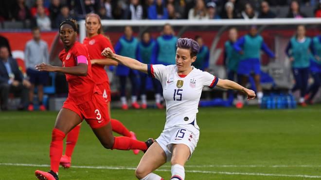 Schoss das dritte Tor zum 3:0 gegen Kanada: Weltfußballerin Megan Rapinoe