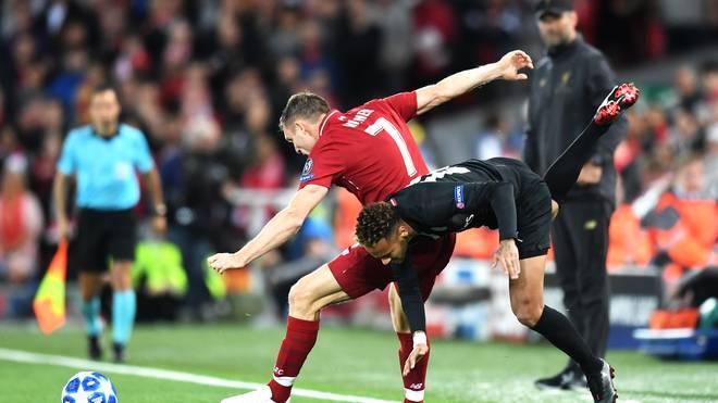 Mit diesem Zweikampf gegen Neymar versetzte James Milner die Liverpool-Fans früh in Ekstase