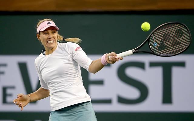 Angelique Kerber steht in Indian Wells im Halbfinale