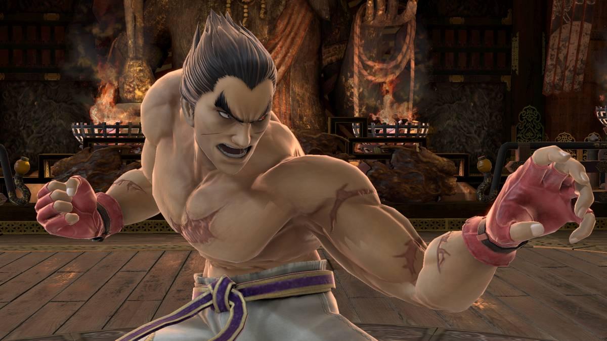 Tekken-Veteran Kazuya Mishima ist ab sofort in Super Smash Bros. Ultimate verfügbar