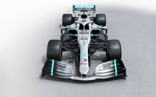 Formel 1: Mercedes präsentiert neues Auto für Hamilton und Bottas