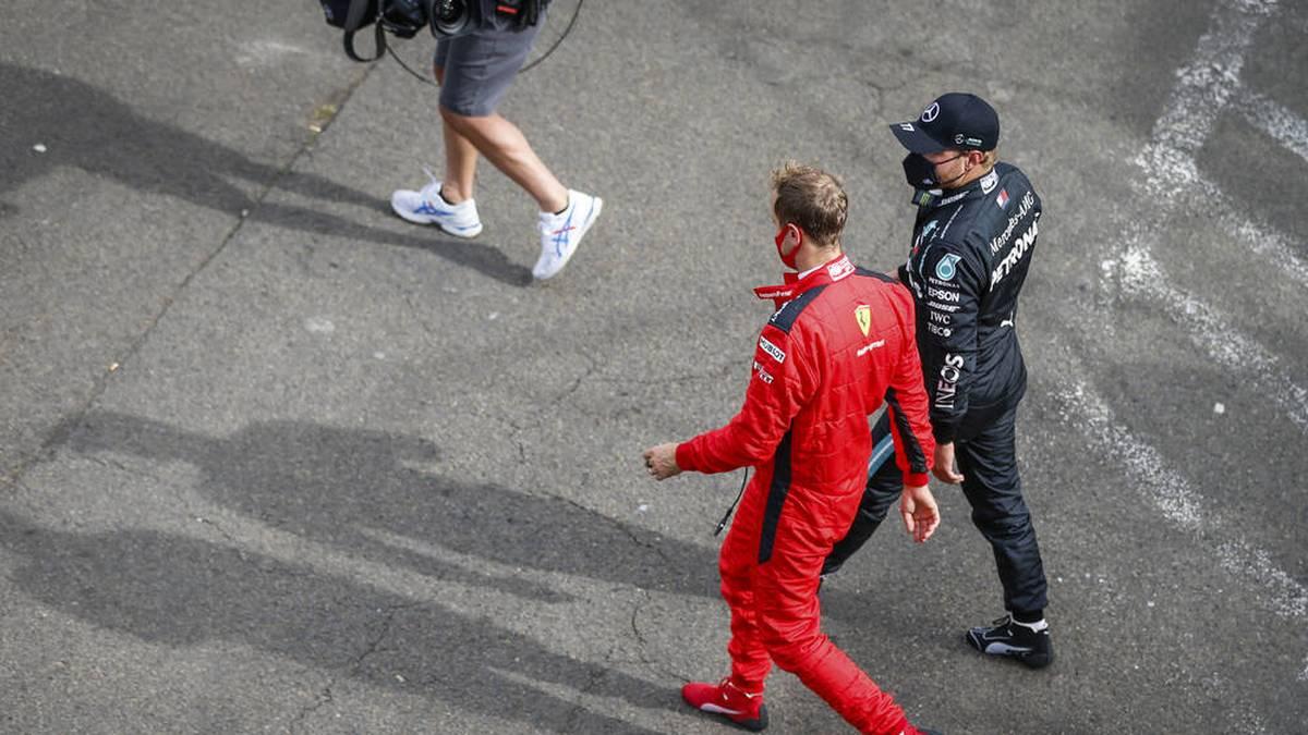 Sebastian Vettel und Ferrari sind offenbar kaum noch konkurrenzfähig