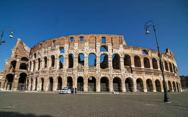 Im Kolosseum wird bei der Leichtathletik-EM 2024 das Kugelstoßen stattfinden