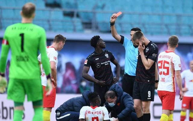 Ahamada sah gegen Leipzig Rot - Zwei Spiele Sperre