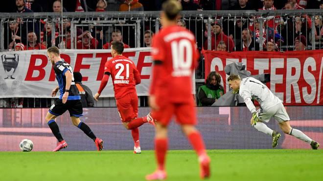 Manuel Neuer verschuldete das 1:1 gegen Paderborn