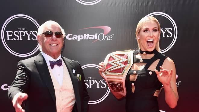 Ric Flair und seine Tochter Charlotte Flair
