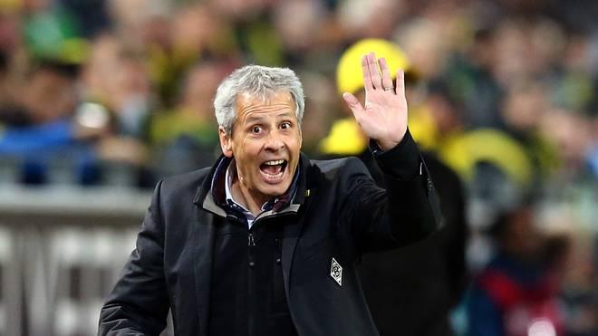 Lucien Favre macht derzeit erstmals mit Borussia Dortmund ein Tief durch