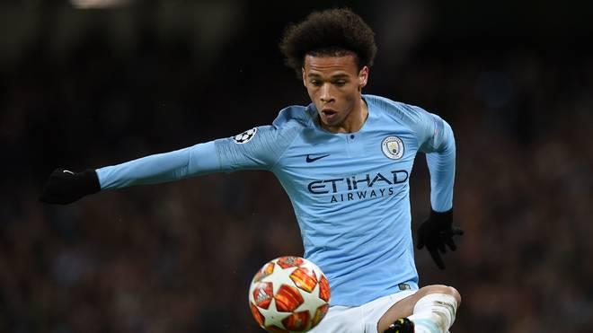 Leroy Sane steht bei Manchester City noch bis 2021 unter Vertrag