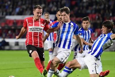 Mario Götze drückt dem Auftakt der Europa League seinen Stempel auf. Seine Leistung für PSV hat fast schon historische Züge.