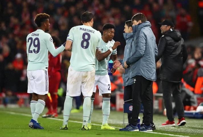 Der FC Bayern hält die Offensive des FC Liverpool im Hinspiel des Champions-League-Achtelfinals in Schach. Nach vorne geht allerdings nicht viel. SPORT1 beleuchtet die FCB-Profis nach dem torlosen Remis