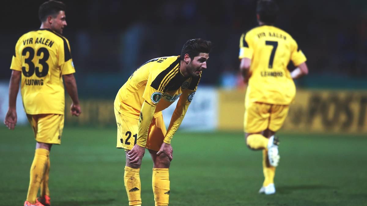 Aalen stieg 2012 in die 2. Bundesliga auf