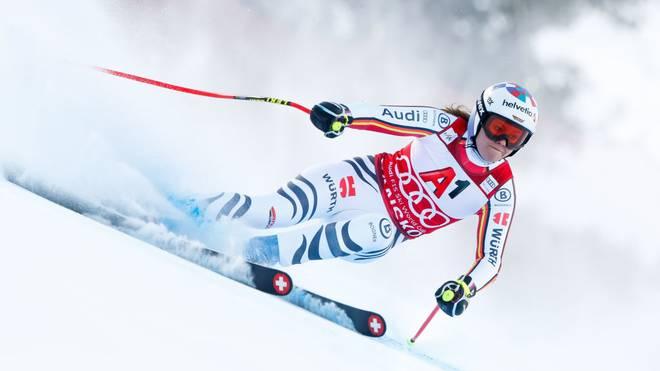 Viktoria Rebensburg sprach sich gegen eine Verschiebung der Ski-WM aus