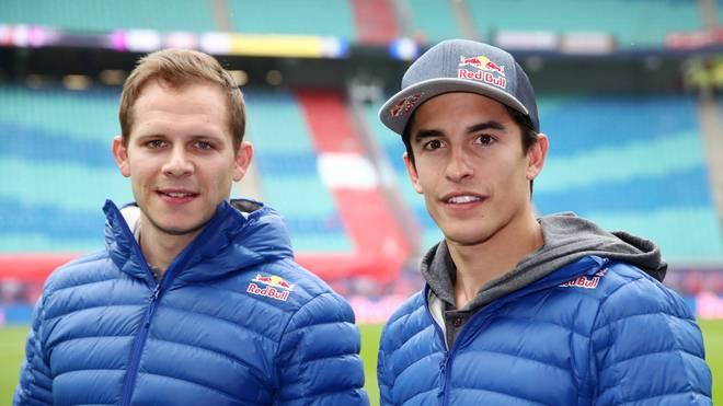 Stefan Bradl (l.) wurde 2011 Moto2-Weltmeister vor Marc Márquez (r.)