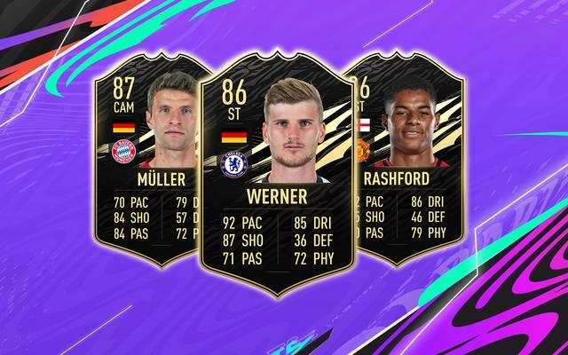 FIFA 21: TOTW #4 - Rashford und Werner laufen allen davon