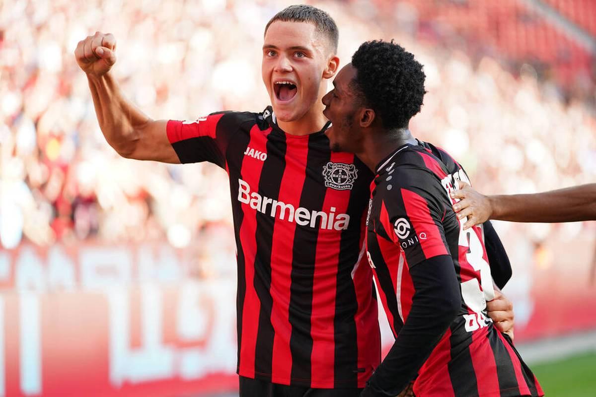 Youngster Florian Wirtz gelingt im Spiel gegen den FSV Mainz 05 ein historischer Treffer. Der Leverkusener knackt eine Bestmarke von Lukas Podolski.