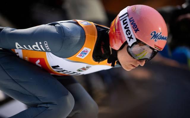 Karl Geiger hat sich den Tournee-Sieg als nächstes Ziel gesetzt