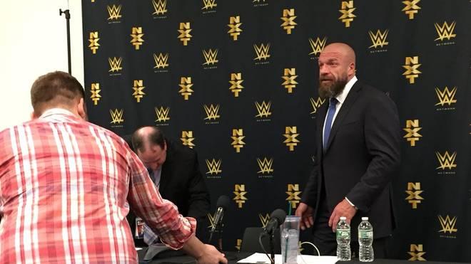Triple H hinter den Kulissen des WWE SummerSlam 2018