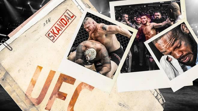 In der UFC-Geschichte häuften sich die Skandale